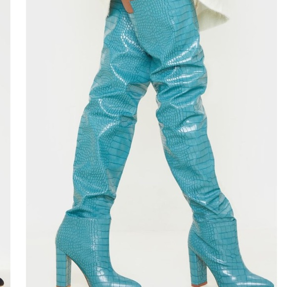 PrettyLittleThing Shoes - High thigh heel never wore